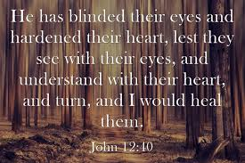 Temporary Partial Blindness Top 7 Bible Verses About Spiritual Blindness