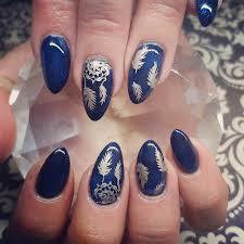 nail art 38 fascinating blue nail art pictures concept navy blue