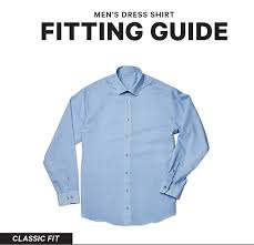 men u0027s dress shirts sizes and fits explained