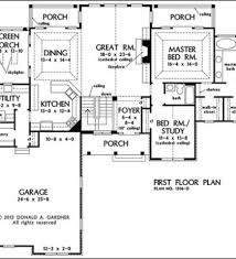 walkout basement home plans from don gardner architects one story