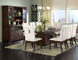White Dining Room Table by Fine White Contemporary Dining Room Sets Glass Tables Photos Home