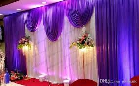 wedding backdrop drapes 3 6m wedding swags drapes party background party celebration