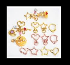 star key rings images Heart shape key ring star key chain rose gold key ring key jpg