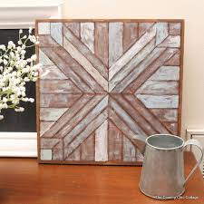 wood quilt square knock the country chic cottage