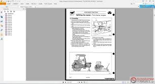 massey ferguson service 6100 complete tractor workshop manual