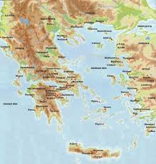 greece map political greece political map