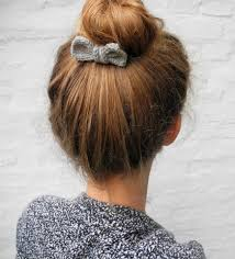 bow hair 25 diy hair accessories to make now everythingetsy