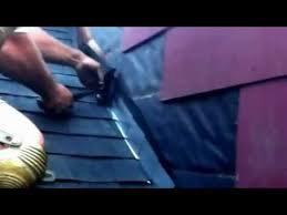 Flashing A Dormer How To Install Step Flashing On A Roof Youtube