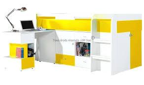 lit combiné bureau enfant lit combine bureau enfant lit enfant avec bureau coulissant yello