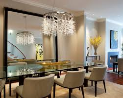 No Chandelier In Dining Room Contemporary Dining Room Living Room Dining Room Combo Design