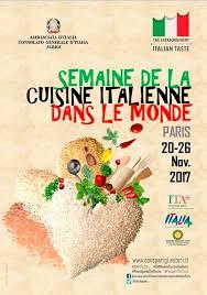 le monde de la cuisine semaine de la cuisine italienne dans le monde zavan