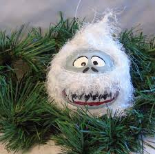 ornament abominable snowman ornament yeti