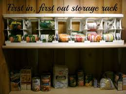 kitchen food storage ideas rotating food storage plans can canned food storage rack