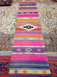Pink Runner Rug Vintage Turkish Kilim Rug Runner Rug Turkish Rug Kilim Area Rug