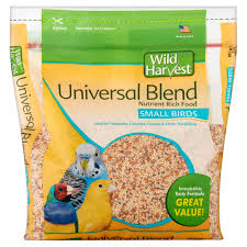 wild harvest universal blend premium small birds seed 3 lbs