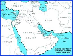 A Map Of The Middle East by Free Bible Maps Of Bible Times And Lands Printable And Public Use