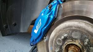 painted calipers blue