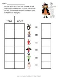 halloween place value worksheets mreichert kids worksheets