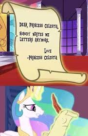 Princess Celestia Meme - 558711 dear princess celestia depressedia edit forever alone