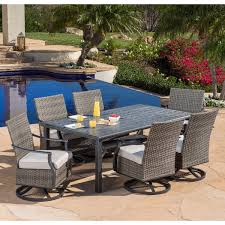 7 Pc Patio Dining Set - dining sets costco
