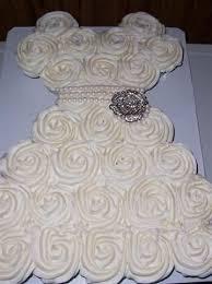bridal cupcakes bridal shower cupcakes shaped like wedding dress this