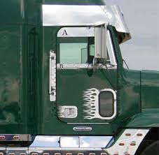 kenworth accessories door accessories 75 chrome shop