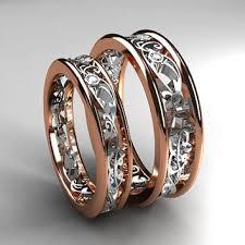 matching wedding band sets best white gold filigree wedding band products on wanelo rings