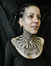 tattoos london england uk ink tattooed tribal body art neck
