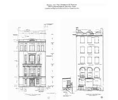Housing Blueprints by 189 Marlborough Back Bay Houses