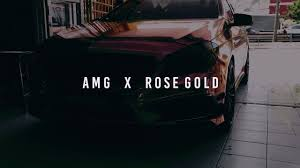 rose gold mercedes mercedes a250 amg ft rose gold wrap youtube