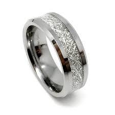 8mm tungsten carbide meteorite men u0027s wedding band ring amazon com