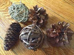 this little house of mine diy rustic christmas ornaments