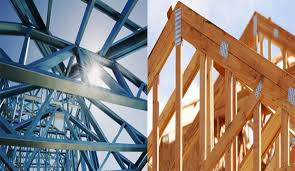differences between steel truss and wooden truss engineering feed