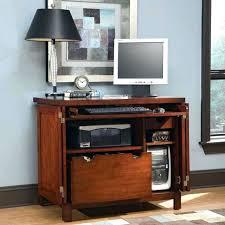 Corner Computer Desk With Storage Computer Hutch Armoire Medium Image For Desk Furniture Secretary