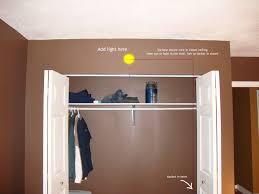 small closet lighting ideas bibliafull com
