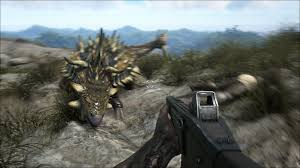 xbox one ps4 pc getting open world dinosaur survival game gamespot