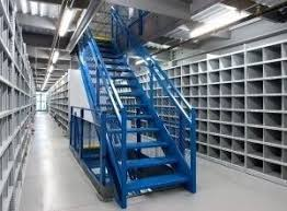 Mezzanine Stairs Design Warehouse Mezzanine Systems U0026 Platforms Kabtech Corp