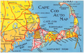 Map Of Cape Cod Ma Cape Cod Auto Map Digital Commonwealth
