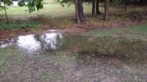 07 25 16 yard flooding storm drain problem pearl river ny youtube