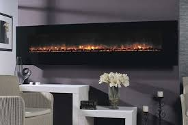 Electric Wall Fireplace Modern Ambiance 95 Wall Mounted Electric