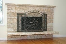 ideas painting fireplace doors latest door u0026 stair design