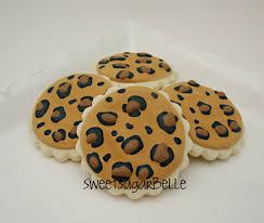 leopard print cookie tutorial u2013 the sweet adventures of sugar belle