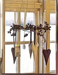 idee per decorare le finestre in stile shabby a natale