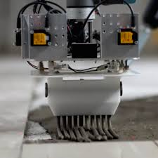 how a robot laying tile could replace skilled labor