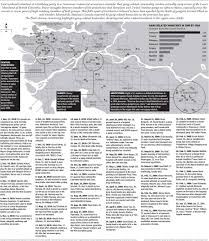 Gang Map Graphic Vancouver U2014 Gang City Canada National Post