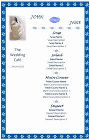 free microsoft word templates part 44 calendar wedding menu
