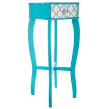 Quatrefoil Side Table Turquoise Quatrefoil Side Table Polyvore
