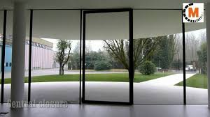 pivot glass door automation for large pivot door easydoor r youtube