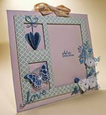 scrapbooking tutorial cornice idea for a frame frames pinterest big shot project ideas and