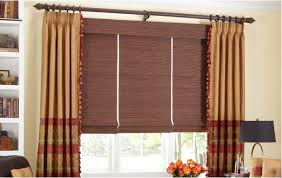 Roman Shades Valance Flat Fold Roman Shades With Valance And Blackout Liner By